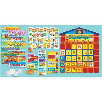 Bb Set School House Calendar By Scholastic Books Trade