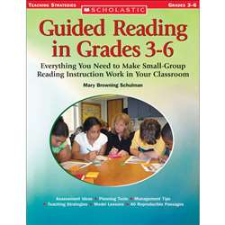 Guided Reading In Grades 3-6 By Scholastic Books Trade