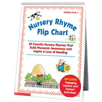 Nursery Rhyme Flip Chart By Scholastic Books Trade