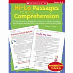 Hi-Lo Passages To Build Gr 5-6 Comprehension By Scholastic Books Trade