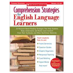 Comprehension Strategies For English Language Learners By Scholastic Books Trade