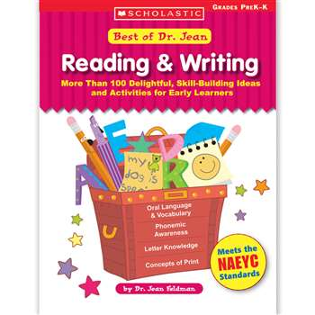 Best Of Dr. Jean Reading & Writing By Scholastic Books Trade