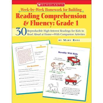 Reading Comp & Fluency Gr 1 Week By Week By Scholastic Books Trade