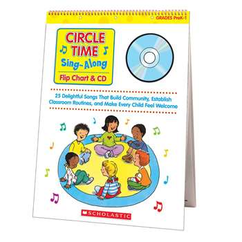 Circle Time Sing Along Flip Chart & Cd By Scholastic Books Trade