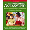 3 Minute Reading Assessments Word Recognition Gr 1-4 By Scholastic Books Trade