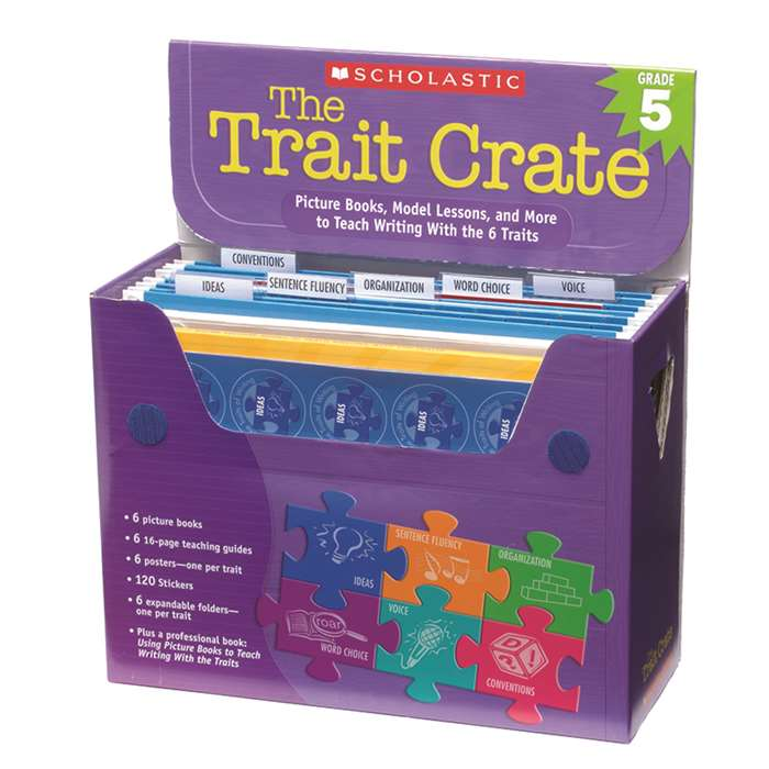 The Trait Crate Gr 5 By Scholastic Books Trade