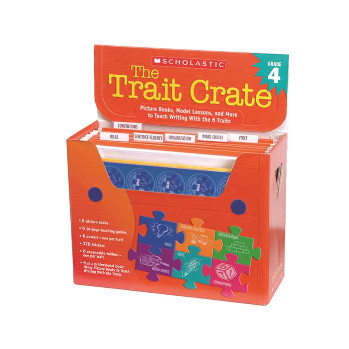 The Trait Crate Gr 4 By Scholastic Books Trade