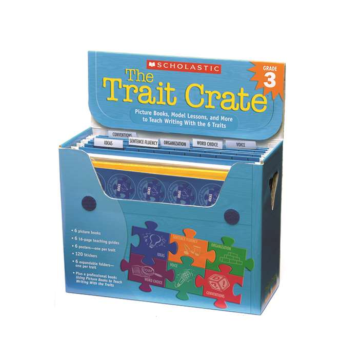 The Trait Crate Gr 3 By Scholastic Books Trade