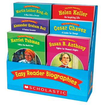 Easy Reader Biographies By Scholastic Books Trade