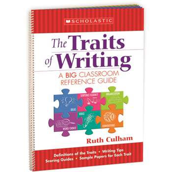 Flip Chart The Traits Of Writing A Big Classroom Reference Guide By Scholastic Books Trade