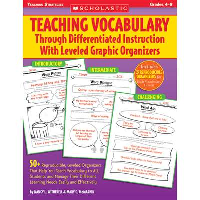 Teaching Vocabulary Through Differentiated Instruction W/ Lvld By Scholastic Books Trade