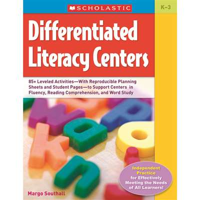 Differentiated Literacy Centers By Scholastic Books Trade