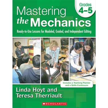 Mastering The Mechanics Gr 4-5 By Scholastic Books Trade