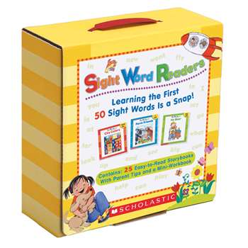 Sight Word Reader Library By Scholastic Books Trade