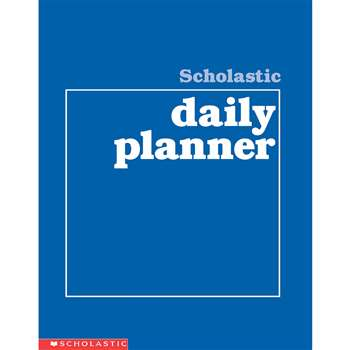 Scholastic Daily Planner Gr K-8 By Scholastic Books Trade