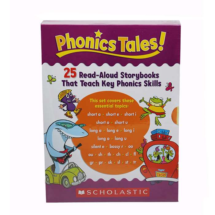Phonics Tales 25 Read Aloud Storybooks Teach Phoni, SC-506771