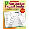 100 Word Building Pyramid Puzzles By Scholastic Books Trade