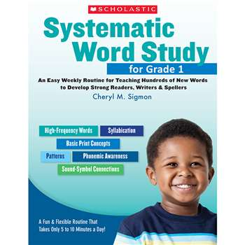 Systematic Word Study For Gr 1 By Scholastic Books Trade