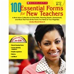 100 Essential Forms For New Teachers, SC-527349