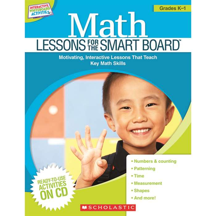 Math Lessons Gr K-1 For The Smart Board By Scholastic Books Trade
