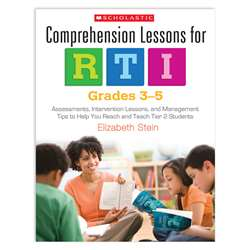 Comprehension Lessons For Rti Gr 3-5 By Scholastic Teaching Resources
