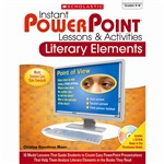 Instant Powerpoint Lessons & Activities Literary E, SC-533280