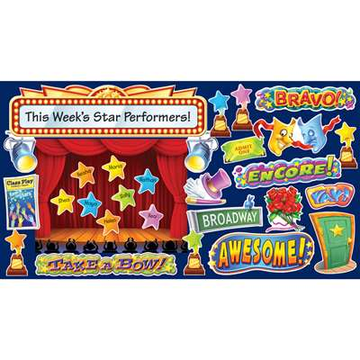 Show Time Bulletin Board Set By Scholastic Books Trade
