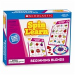Spin To Learn Beginning Blends Game By Scholastic Books Trade
