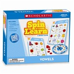 Spin To Learn Vowels Game By Scholastic Books Trade