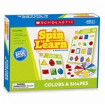 Spin To Learn Colors & Shapes Game By Scholastic Books Trade