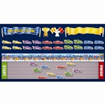 The Race Is On Bulletin Board Set By Scholastic Books Trade