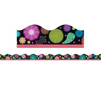 Flower Bursts Scalloped Trimmer By Scholastic Books Trade