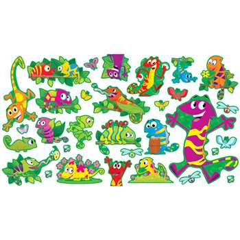 Cool Chameleons Bulletin Board Set By Scholastic Books Trade