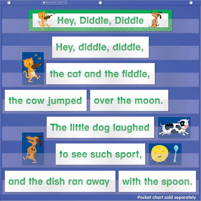 Nursery Rhymes Pocket Chart Add Ons By Scholastic Books Trade
