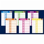 Daily Schedule Bulletin Board Set By Scholastic Books Trade