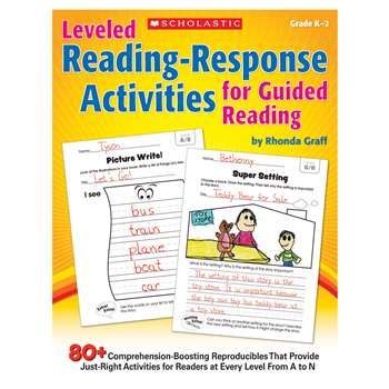 Leveled Reading Response Activities For Guided Reading By Scholastic Teaching Resources