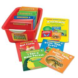 Guided Science Readers Super Set Animals By Scholastic Teaching Resources