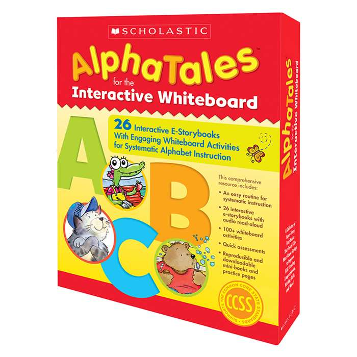 Alphatales Interactive E Storybooks By Scholastic Teaching Resources