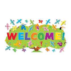 Jingle Jungle Welcome Bulletin Board Set By Scholastic Teaching Resources