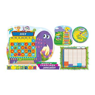 Jingle Jungle Calendar Bulletin Board Set By Scholastic Teaching Resources