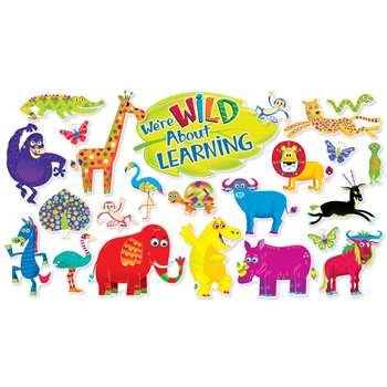 Jingle Jungle Animals Bulletin Board Set By Scholastic Teaching Resources