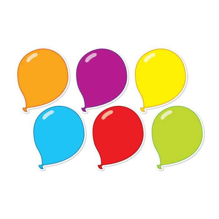 Balloons Accents By Scholastic Teaching Resources