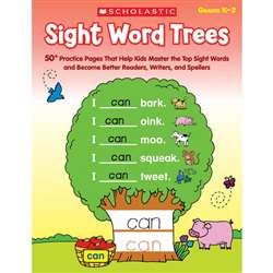 Sight Word Trees, SC-553833
