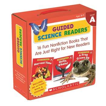 Level A Guided Science Readers Parent Pack, SC-565092