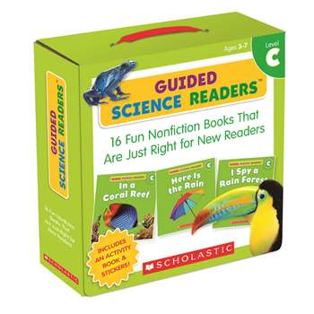 Level C Guided Science Readers Parent Pack, SC-565094