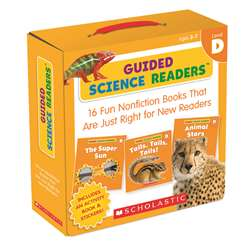 Level D Guided Science Readers Parent Pack, SC-565095