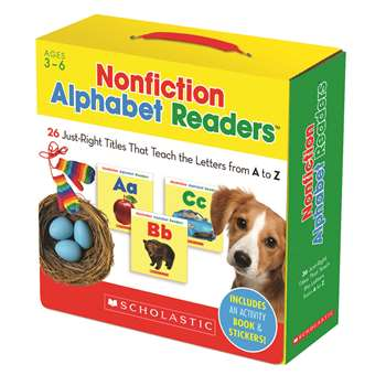 Shop Nonfiction Alphabet Readers Parent Pack - Sc-565113 By Scholastic Teaching Resources