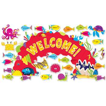 Shop Ocean Welcome Bulletin Board - Sc-565363 By Scholastic Teaching Resources