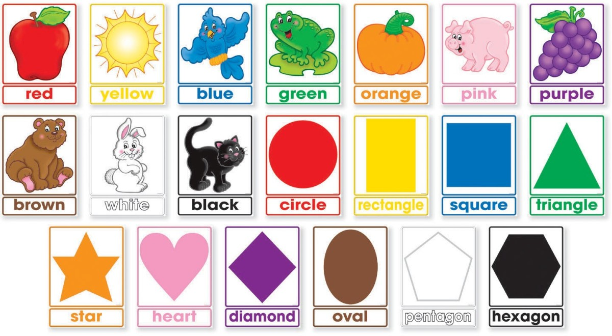 Colors Amp Shapes Bulletin Board By Scholastic Teaching