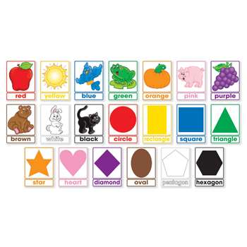 Shop Colors & Shapes Bulletin Board - Sc-565365 By Scholastic Teaching Resources